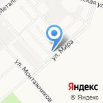 Гиперион на карте Кирова