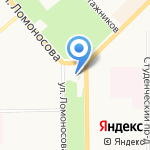 Храм во имя святых мучениц Веры на карте Кирова
