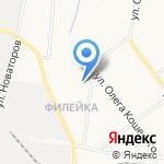 Бригадир на карте Кирова