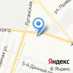 Бирюса на карте Кирова