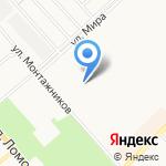 Магазин нижнего белья и бытовой химии на карте Кирова