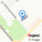Участковый пункт полиции №19 по Октябрьскому району на карте Кирова