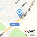 Цеховик на карте Кирова