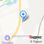 Хлынов-Молоко на карте Кирова