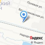 Северный на карте Кирова