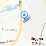 Колесо на карте Кирова