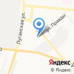 Художественно-технологический лицей на карте Кирова