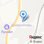 Траектория на карте Кирова