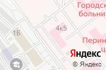 Схема проезда до компании Северная клиническая больница скорой медицинской помощи в Кирове