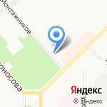 Детская поликлиника №4 на карте Кирова