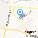 Сеть ателье по пошиву и ремонту одежды на карте Кирова