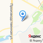 Кировский государственный колледж строительства на карте Кирова