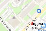 Схема проезда до компании Красотка в Кирове