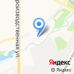 Делмарк на карте Кирова