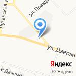 Рыбацкий кордон на карте Кирова