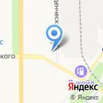 Надэль на карте Кирова