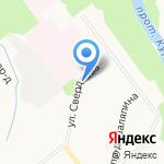 Гамбургер на карте Кирова
