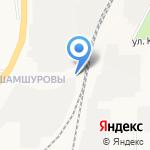 У переезда на карте Кирова