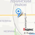 Автобаланс на карте Кирова