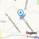 Средняя общеобразовательная школа №18 на карте Кирова