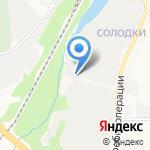Комбинат металлоконструкций на карте Кирова