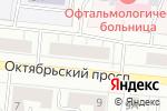 Схема проезда до компании Планета садовода в Кирове