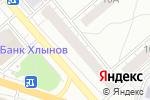 Схема проезда до компании Кировский трикотаж в Кирове