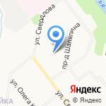 Флоэма на карте Кирова