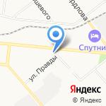 Лада на карте Кирова