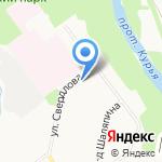 Здравствуй на карте Кирова
