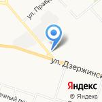 Кировский трикотаж на карте Кирова