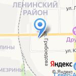 Ушивайка на карте Кирова