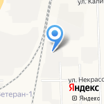 Эскорт-авто М на карте Кирова