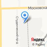 Аксон на карте Кирова