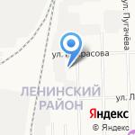 Сельмашевские бани на карте Кирова