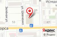 Схема проезда до компании Комиссар_31rus в Белгороде