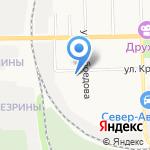 Лучшие друзья на карте Кирова