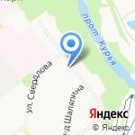 Библиотека №20 на карте Кирова