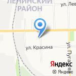 Поликлиника №1 на карте Кирова