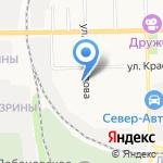 Детский сад №189 на карте Кирова