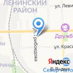 Никкан на карте Кирова