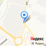 Магазин китайских автозапчастей для грузовых автомобилей на карте Кирова