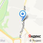 Компания по производству и укладке брусчатки на карте Кирова