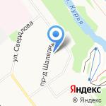 Капитошка на карте Кирова