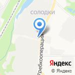 Автогараж на карте Кирова
