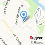 Скатерть самобранка на карте Кирова