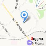 Северный берег на карте Кирова