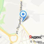 Слобода Курочкины на карте Кирова