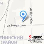 Продуктовый магазин №63 на карте Кирова