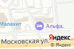 Схема проезда до компании Европейский в Кирове